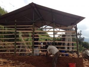 ネパール 建設