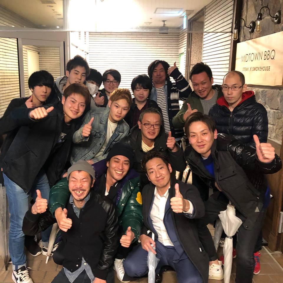 横浜校・月例の食事会